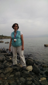 On the Sea of Galilee at Mensa Christi, where the fishing disciples met the risen Jesus (John 21).