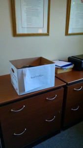 Happy to have my travelling office back in my office!