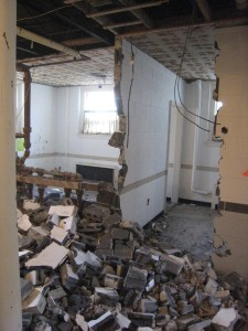 This used to be the ladies' room.