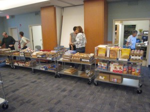 The next Saturday, the Food Pantry was back in business.
