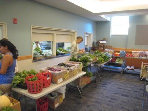 The Food Pantry looking good in its new home!